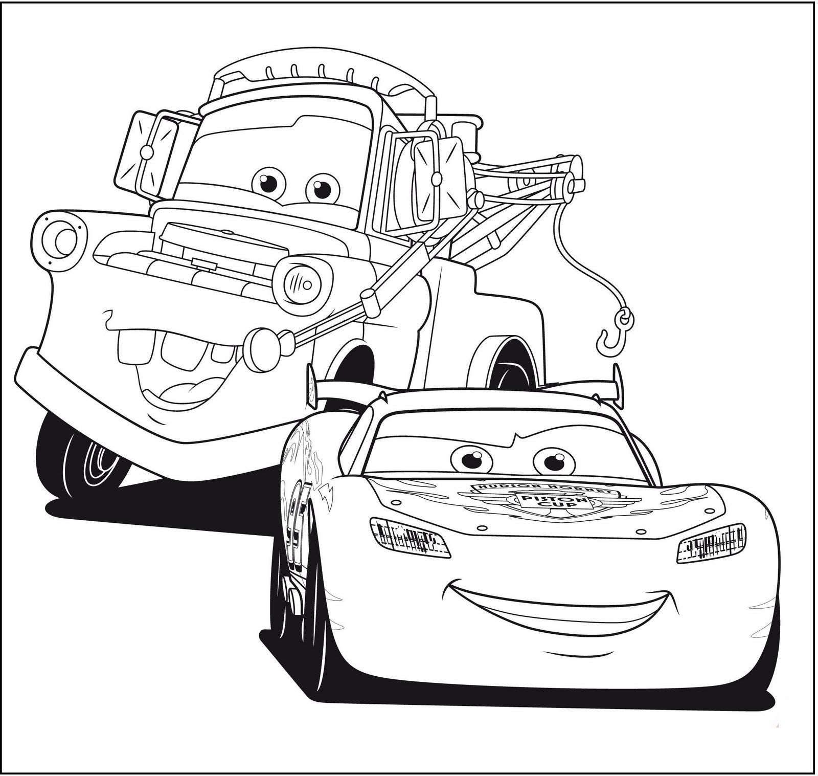 5100 Disney Cars Coloring Book Pdf Best HD