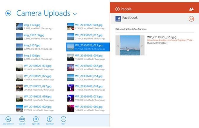 dropbox أفضل 10 تطبيقات للويندوز 8.1 خلال 2014