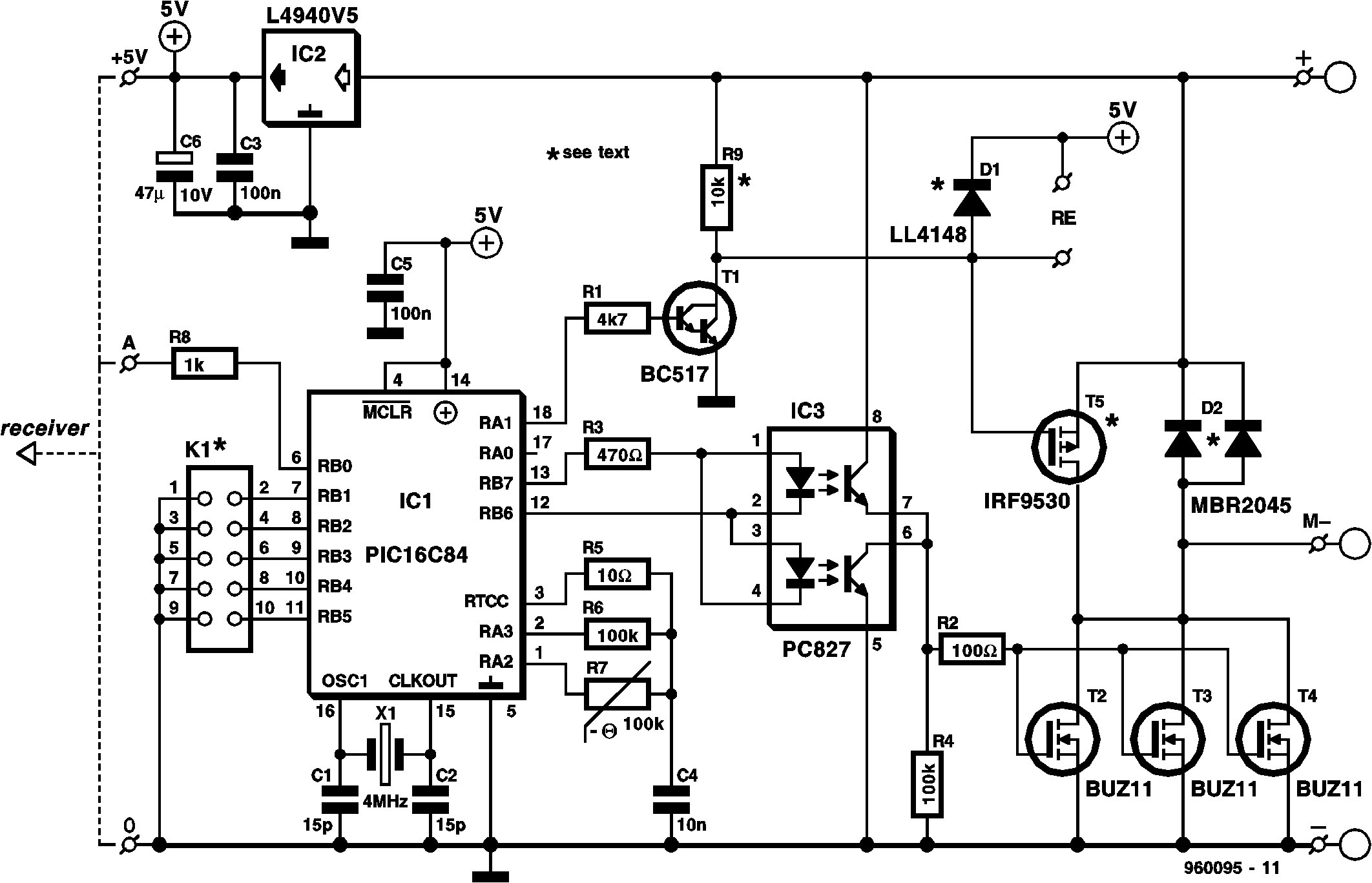 Rc Car Receiver Wiring Diagram