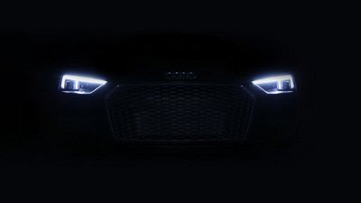 Audi debuts first US laser light on the 2017 R8 V10 plus exclusive | Audi USA