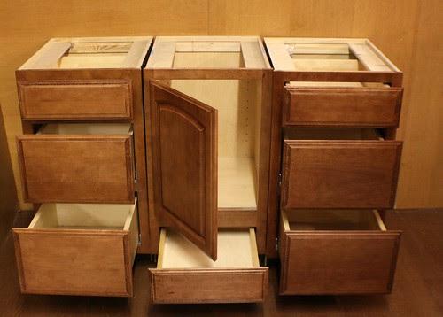 Kraftmaid Maple Bathroom Vanity Sink Base Cabinet SET   eBay