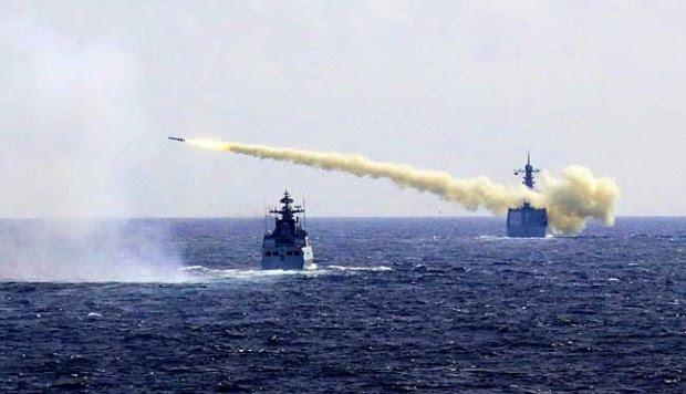 Tiongkok Unjuk Kekuatan di Laut Cina Timur