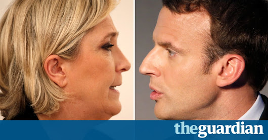 French election: Emmanuel Macron and Marine Le Pen through to second round, estimates show – live | World news | The Guardian