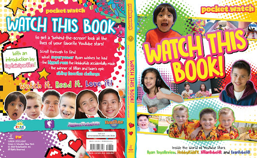 Kids Creators Like Ryan ToysReview, EvanTube, Captain Sparklez To Be Featured In Upcoming Book - Tubefilter