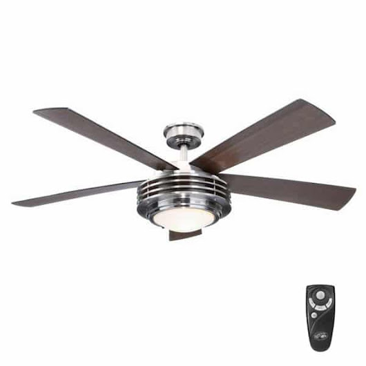 Mondrian 52 inch Indoor Brushed Nickel Ceiling Fan Manual | Hampton Bay Ceiling Fans Lighting & Patio Furniture Outlet
