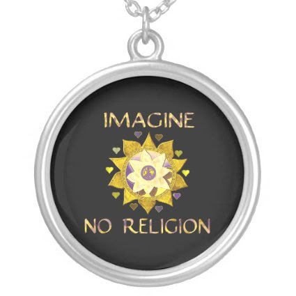 Imagine No Religion Jewelry