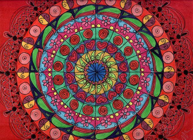 Los Mandalas Colores Y Significados