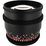 Rokinon 85mm T1.5 Cine Lens for Canon