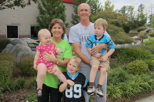 mimi & granpa w/grandkids (sept. 2012)