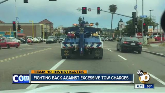 Man enlists help of the CHP in price dispute with towing company