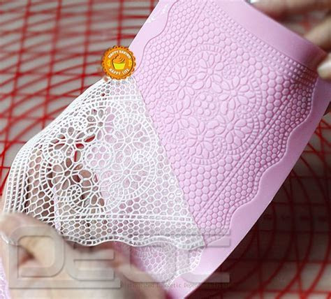 Lace Shaped Silicone Mold Mould Fondant Cake Decoration