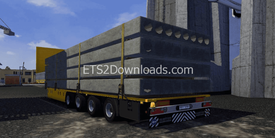Ets2 Mods Trailers Wheel, Panel Transport Trailer, Ets2 Mods Trailers Wheel