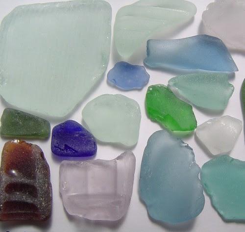 seaglass colours