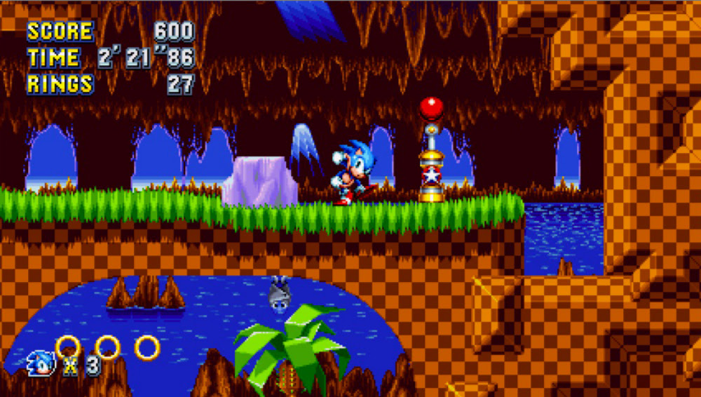 Nintendo Download: Sonic Mania screenshot