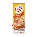 Liquid Coffee Creamer, Hazelnut, 0.38 oz Mini Cups, 50/Box 35180BX