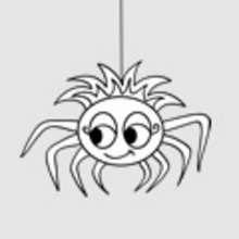 Araña Dibujos Para Colorear Juegos Gratuitos Videos Y Tutoriales
