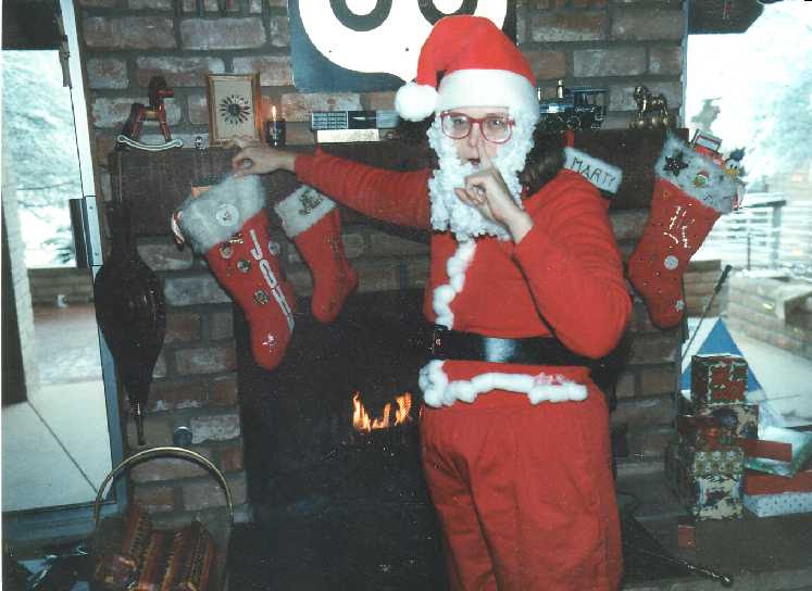 filling the stockings, 1987
