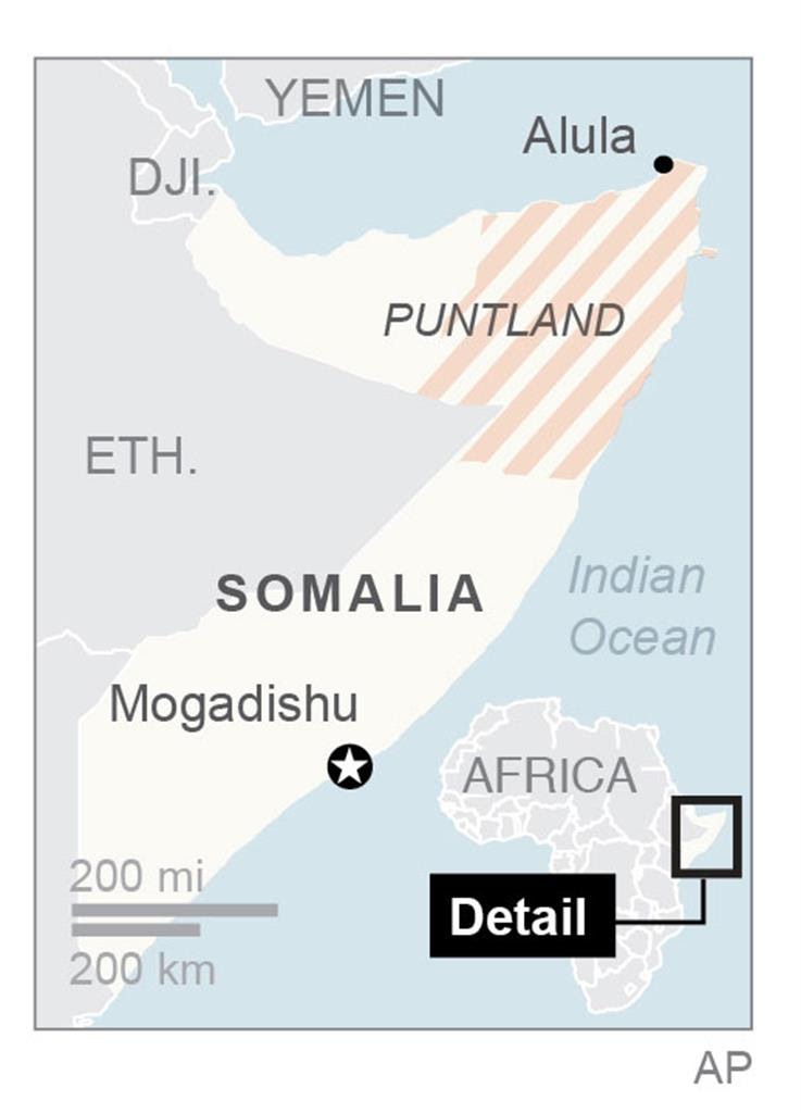 Pirates hijack freighter off Somalia's coast