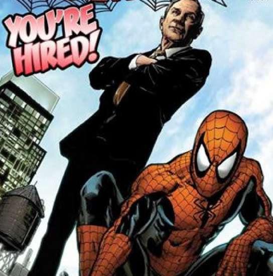 El alcalde Bloomberg contrata a Spiderman