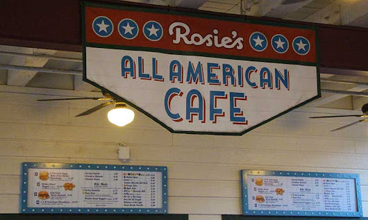 Rosies All American Cafe - Disney Hollywood Studios • Military Disney Tips Blog