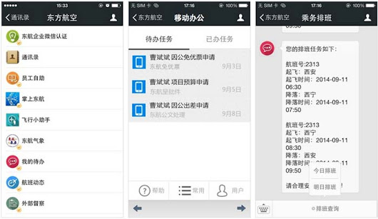 Wechat Launched Business Accounts for Team Collaborations