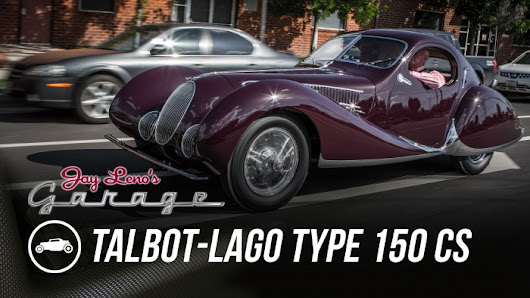 Jay Leno Showcases a True Classic: the 1937 Talbot-Lago Type 150 CS