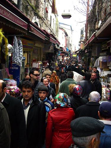 Behind the Mısır Çarşısı