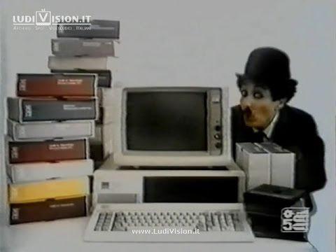 IBM Personal Computer con Charlie Chaplin #3 (1984)