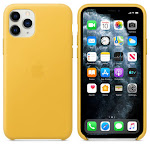 Brand New Apple iPhone 11 Pro Max Meyer Yellow Leather Case