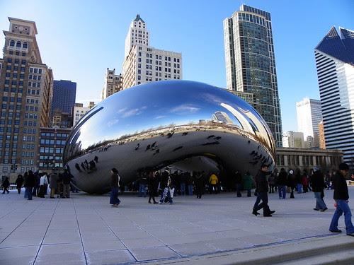 Chicago Millenium Park Cloud Gate The Bean