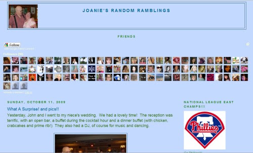 Joanie's Random Rambling