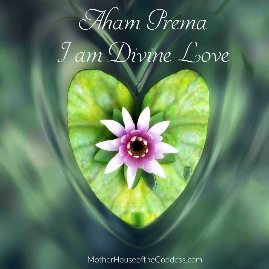 Aham Prema I Am Divine Love Mantra By Kimberly F Moore
