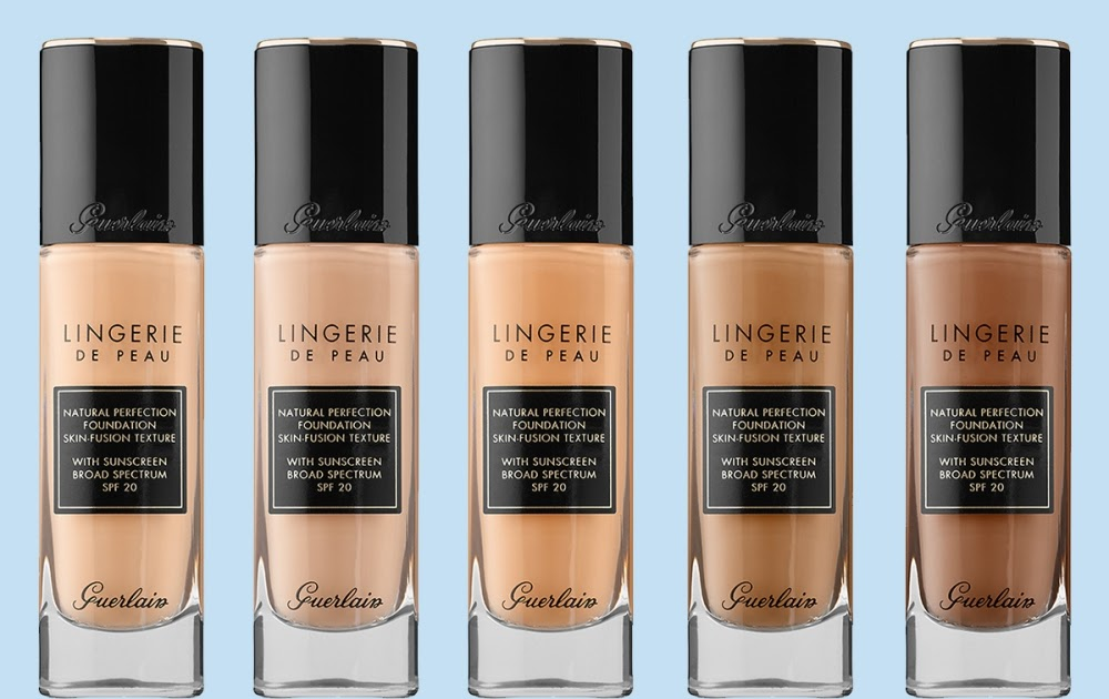 Guerlain Lingerie De Peau Natural Perfection Foundation for Fall 2016 | Top  Beauty Blog in the Philippines covering Makeup Reviews, Swatches, Skincare  and More!