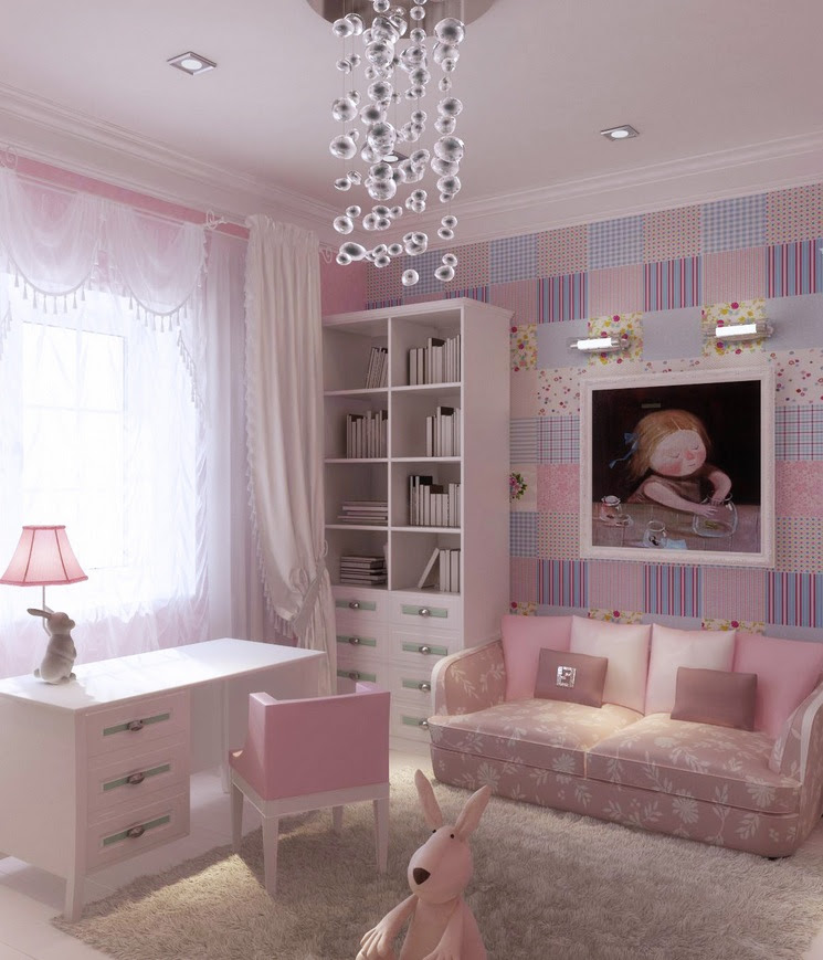 3 preteen girls bedroom 13  Interior Design Ideas.