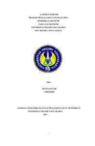 Contoh Laporan Kkn Individu Fakultas Ekonomi Manajemen Kumpulan Contoh Laporan