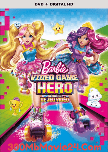 Barbie Video Game Hero (2017) 720p 300Mb