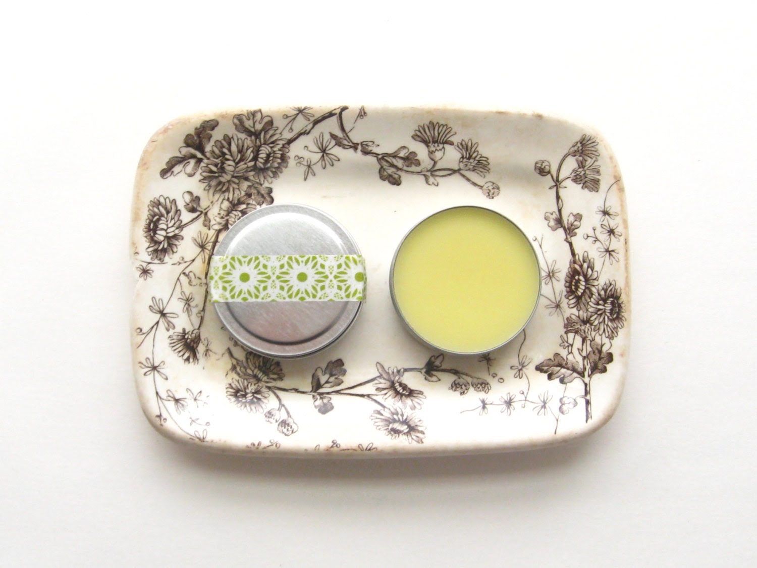 Foot Butter Rosemary Lavender Tea Tree // Organic Foot Hand Salve Moisturizer Green Rustic Natural Beeswax Olive Oil Spring