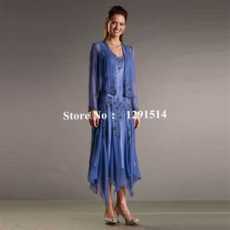 Fashion Mother of the Bride Groom Dresses with Jacket for