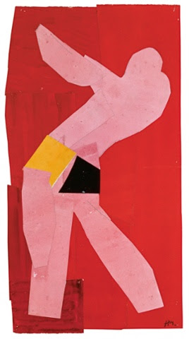 Small Dancer on a RedBackground,1937-8