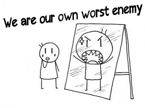 Our Own Worst Enemy Quote Quote Number 603081 Picture Quotes