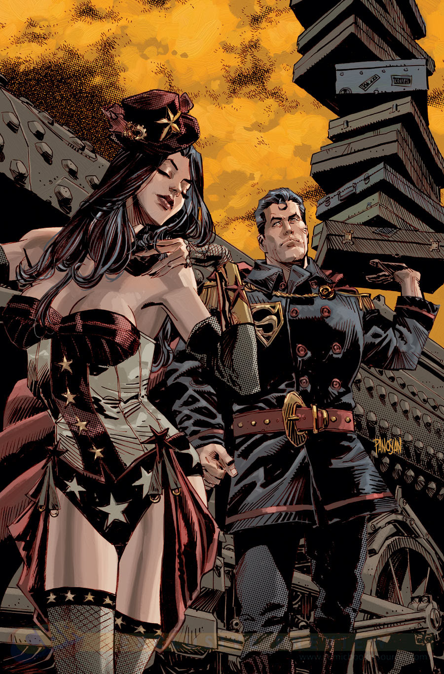 SUPERMAN/WONDER WOMAN #5, POR DAN PANOSIAN