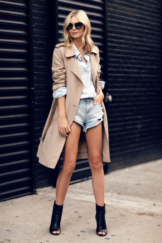 Le Fashion Blog -- Trench Coat, Cut-Off Denim Shorts & Open Toe Boots -- Via Australian Blogger Jess Stein Of Tuula Vintage -- photo Le-Fashion-Blog-Trench-Coat-Cut-Off-Denim-Shorts-Open-Toe-Boots-Via-Jess-Stein-Tuula-Vintage.jpg