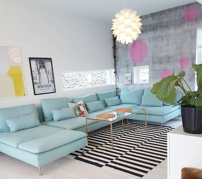 Ruang Tamu Minimalis Warna Cream | Ide Rumah Minimalis