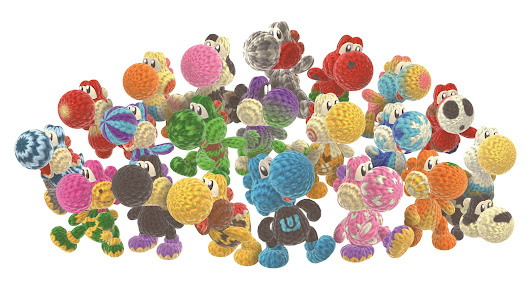 Things No One Cares About: Yoshi's Woolly World