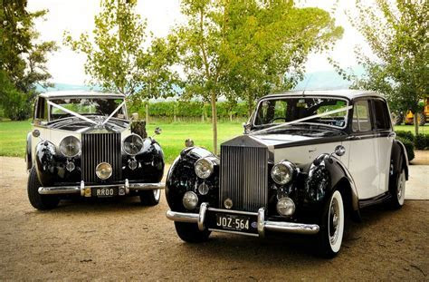Two Tone Rolls Royce Silver Wraith and Rolls Royce Silver
