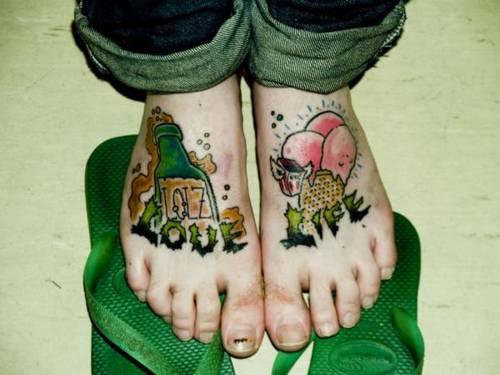 Labels: devil tattoos, foot tattoos, girls tattoos, tattoos on feet