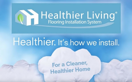 Healthier Living Installation | Flooring Installation at Carpet One