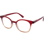 Gabriel + Simone Screen Light Blockers -Ellie Red Women Reading Glasses NEW AUTHENTIC 50mm 1.00