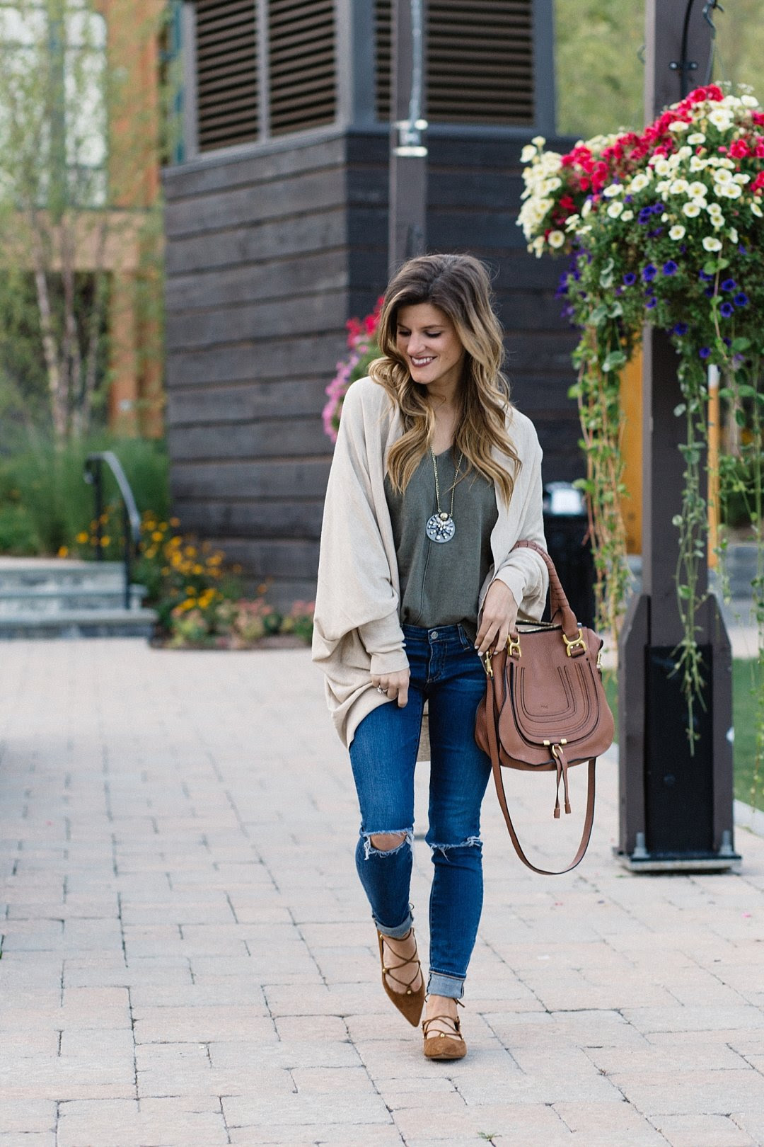 cute comfy  casual fall outfit for everyday style