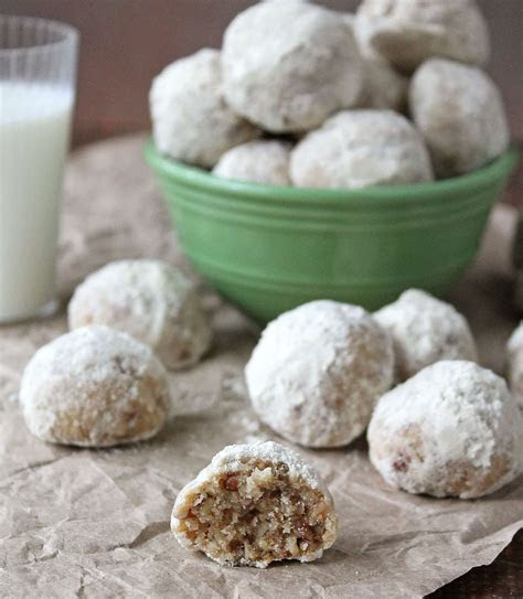 gluten  snowball cookies treatyourfamily